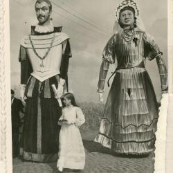 Overzicht thematiek reuzenstoet Gavere 1948-1952