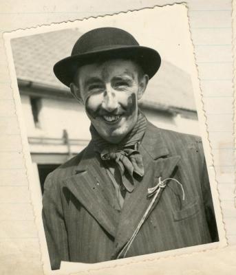 Sfeerbeeld reuzenstoet 1950