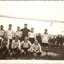 Kampioenenploeg van de 4de Linie, voor de finale tegen 6de Linie te Leopoldsburg