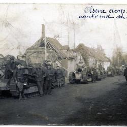 Een automitrailleuse tijdens het Gevecht bij de Edemolen