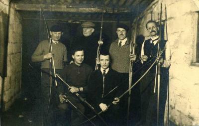 Boogschutters in het Boldershof