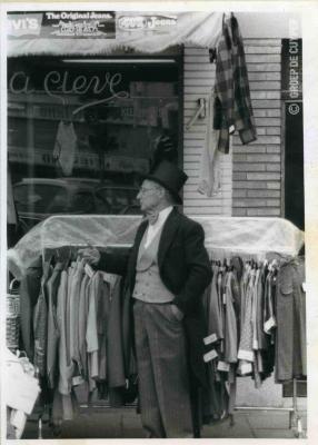 Albert Cleve in pitteleer
