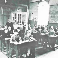 Klasfoto gemeenteschool