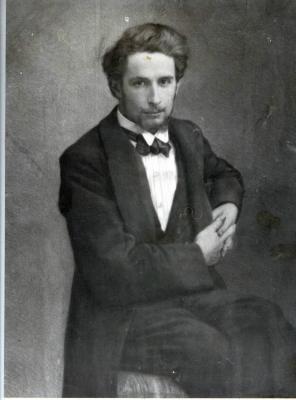 Portret van Gust De Smet door zijn broer Leon