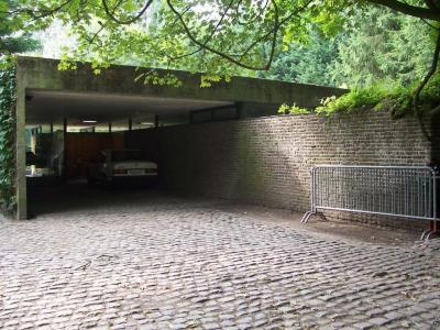 De woning van architect Lampens