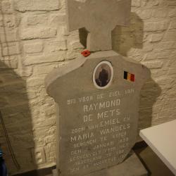Het graf van soldaat Theofiel Vermaercke