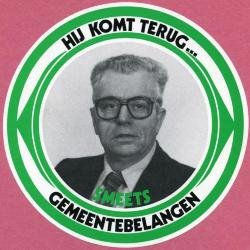 Verkiezingssticker Felix Smeets