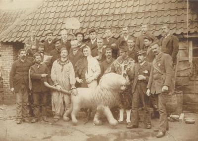 De oudst gekende foto van de Zultse Firtel