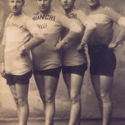 De wielrennende gebroeders Buysse