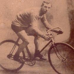 De wielrenner Lucien Buysse