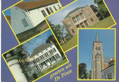 Postkaarten De Pinte