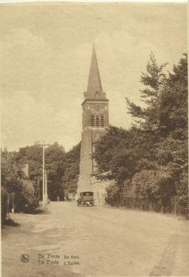 De kerk van De Pinte