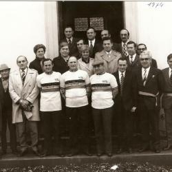 Viering van de bolders op 13/10/1974