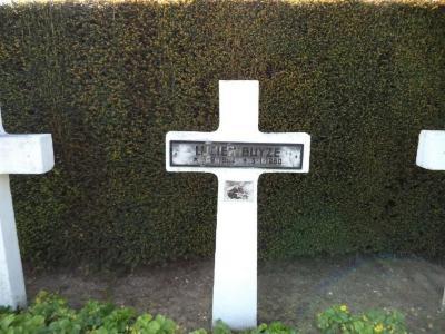 Het graf van Lucien Buysse