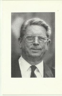 Bidprentje van priester Carlos Van Overbeke