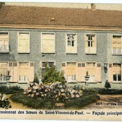 Postkaart met afbeelding Zults pensionaat