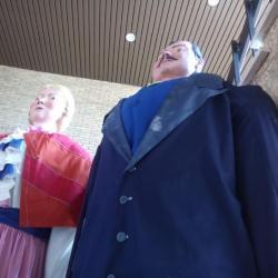 Reus Tonus poseert met brouwersgasten