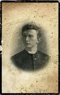 Doodsprentje pastoor Hendrik Van Butsele