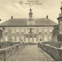 Het kasteel van Welden voor de restauratie van 1927