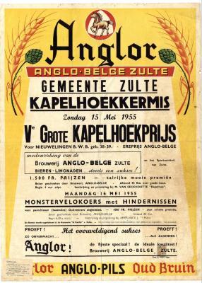 Kermisaffiche Kapelhoek 1955