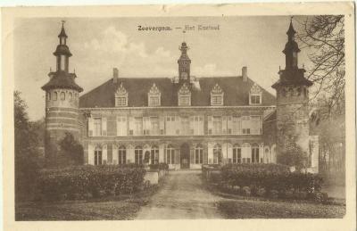 Het kasteel van Welden na de restauratie van 1927