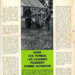 Promofolder biologische voeding LIMA uit 1971