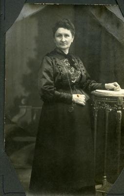 De moeder van Edgar Gevaert