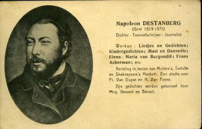 Journalist en dichter Napoleon Destanberg