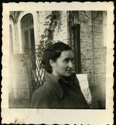 Céline Gevaert, dochter van Marie Minne en Edgar