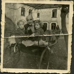 De ezelkar van de familie Gevaert-Minne