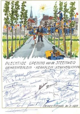 Plechtige Opening van de Steenweg