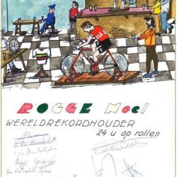 Wereldrecordhouder Noël Rogge