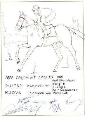 Charles Reynaert paardenkampioen