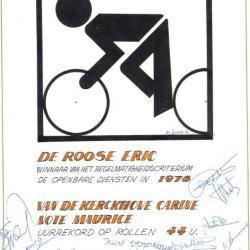 Eric De Roose wint het Regelmatigheiscriterium