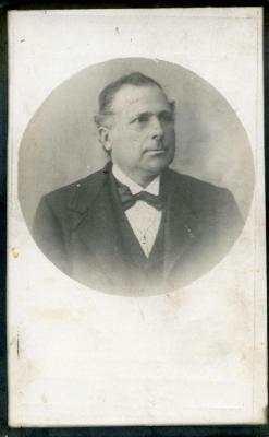 Het doodsprentje van Olsenaar Remi-Henri Steupaert