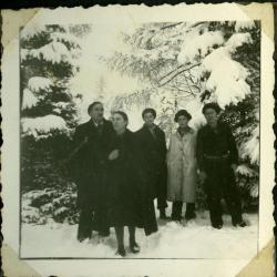 Winterwonderland in Latem