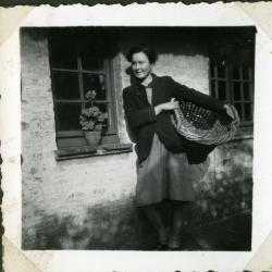 Lucie Gevaert, dochter van Edgar en Marie Minne