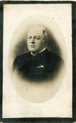 Het doodsprentje van Adolf-Gustaaf-Hippoliet Kluyskens
