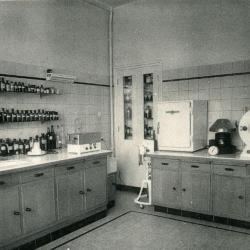 Het 'washuis' van het Sint-Vincentiusziekenhuis
