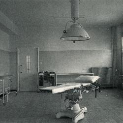 Een typische ziekenhuisgang