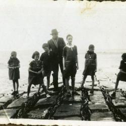 Een uitstapje naar zee met de familie Gevaert-Minne