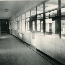 De inkomhal van het Sint-Vincentius ziekenhuis