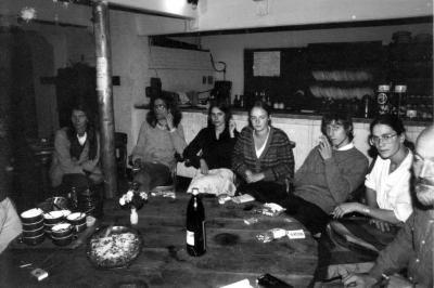 Aan tafel in het eerste Belgische vegetarisch restaurant
