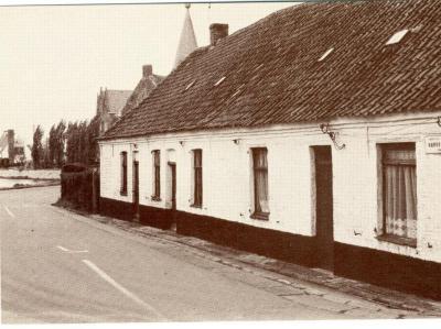 Arbeidershuisjes in de Machelse Karperstraat
