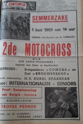 Motocross te Semmerzake