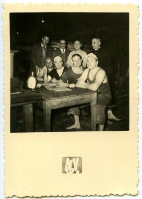De mannen van het suikermagazijn in Bihucourt