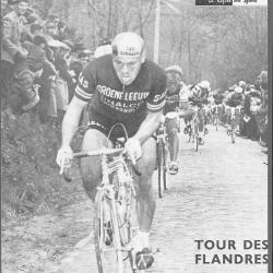 Tuur 'El Toro' Decabooter wint de Ronde van Vlaanderen van 1960