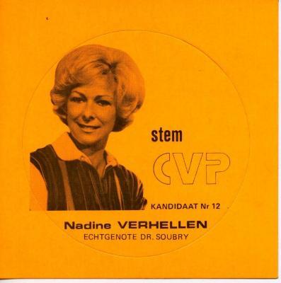 Nadine Verhellen CVP