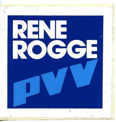 Rene Rogge voor de PVV