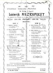De Leievrienden organiseren een muziekfeest